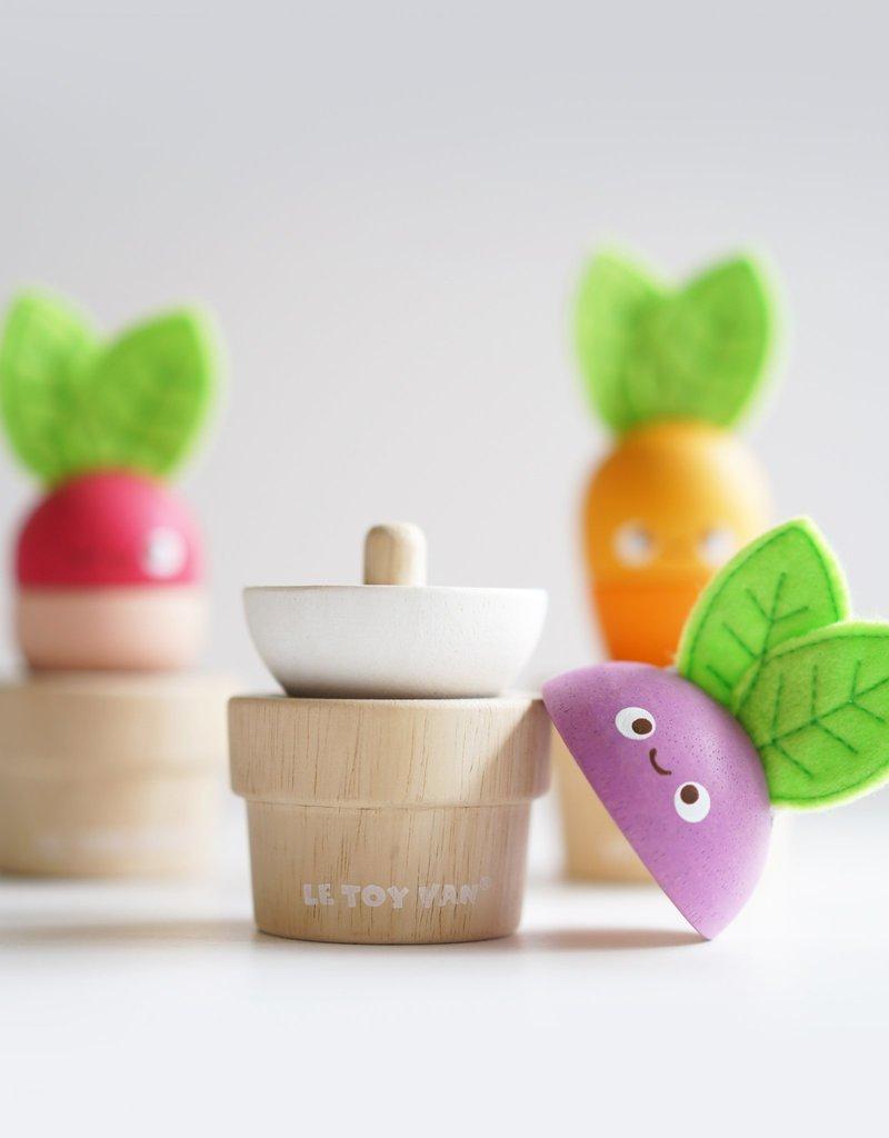 Le Toy Van Mignons légumes empilables