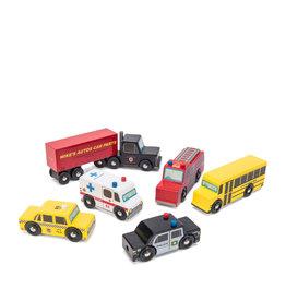 Le Toy Van Wooden Car Set of 6