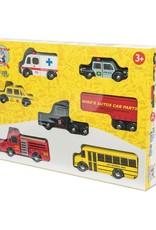 Le Toy Van Wood Car Set