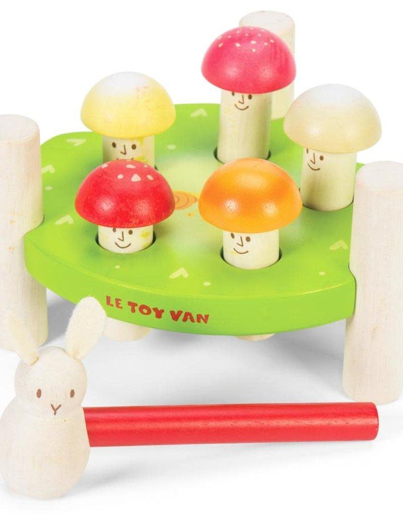 Le Toy Van Jeu de marteau - Messieurs Champignons