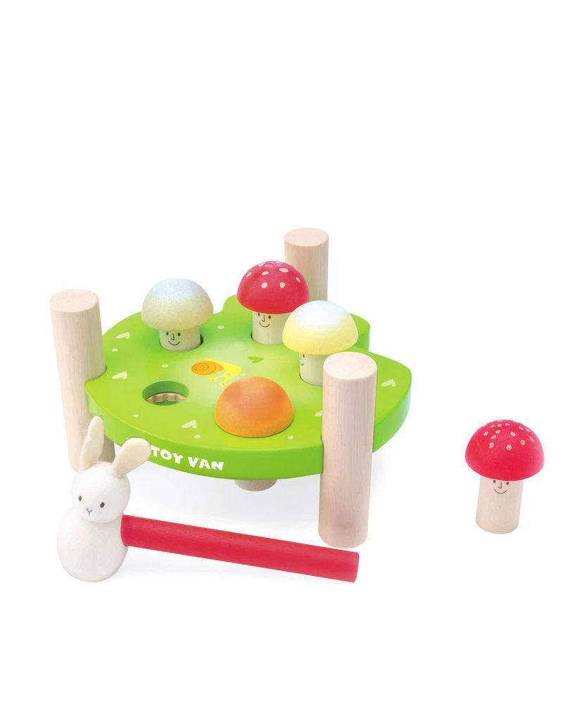 """Le Toy Van Hammer Game """"Mr Mushroom"""""""