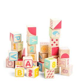 Le Toy Van Blocs en bois - ABC