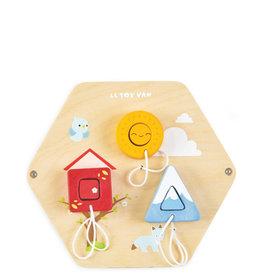 Le Toy Van Shapes Activity Tile