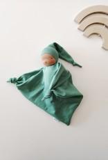 Comfrey & Clary Baby lovey waldorf - Organic bamboo jersey - Green