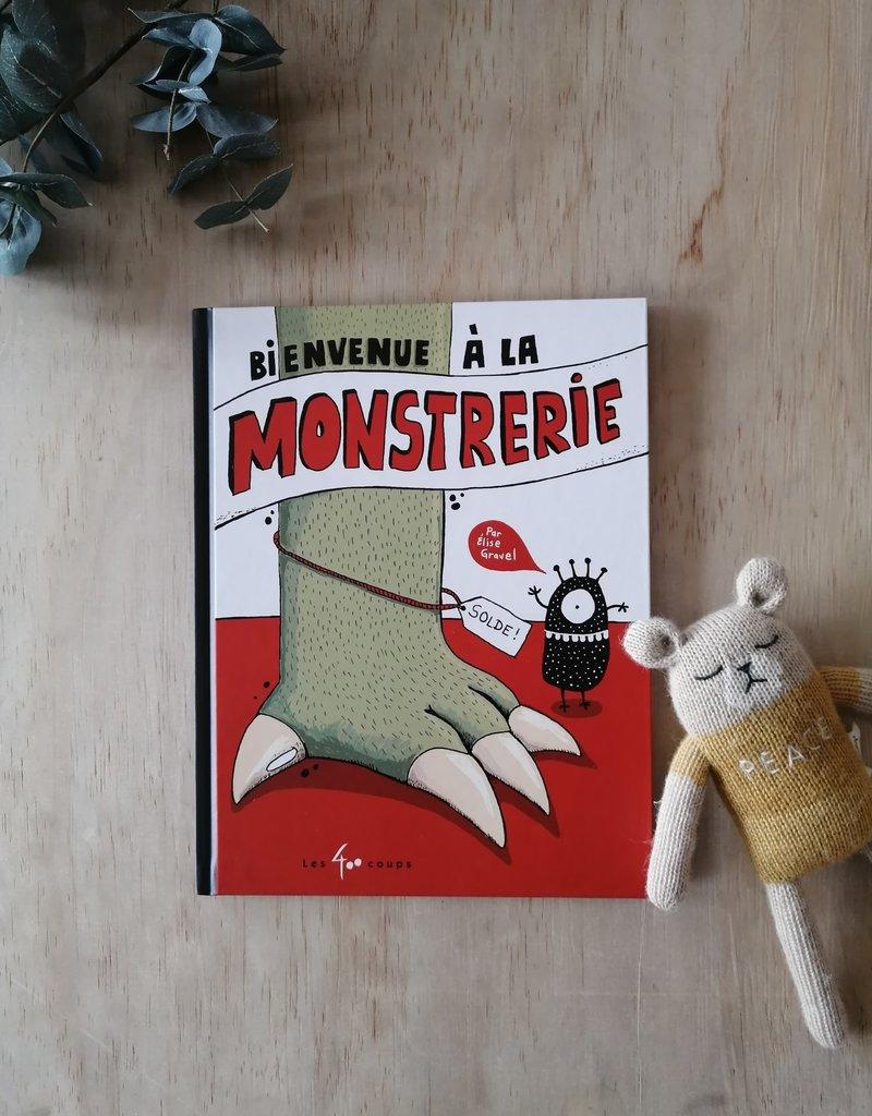 Livre  Bienvenue à la monstrerie