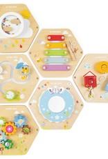 Le Toy Van activity tiles - spinning spring garden