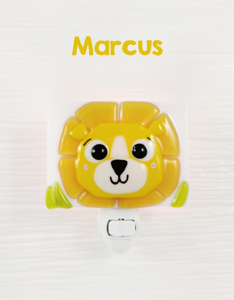 Veille sur toi Lion nightlight - Marcus