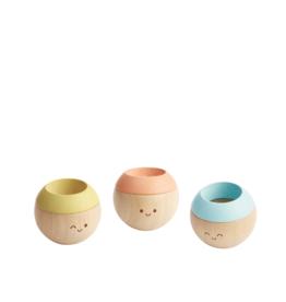 Plan Toys Hochet sensoriel en bois