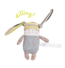 Moulin Roty Nin-Nin the little rabbit rattle (11 cm)