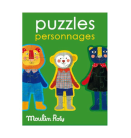 Moulin Roty Character puzzle 3+