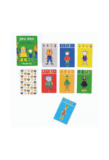 Moulin Roty Happy Families Games card