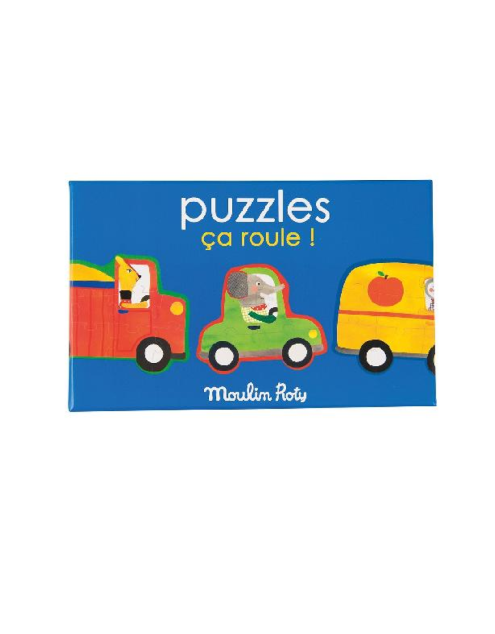 Moulin Roty Transport Puzzle  3+