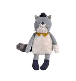 Moulin Roty Les moutaches - peluche chat Fernard