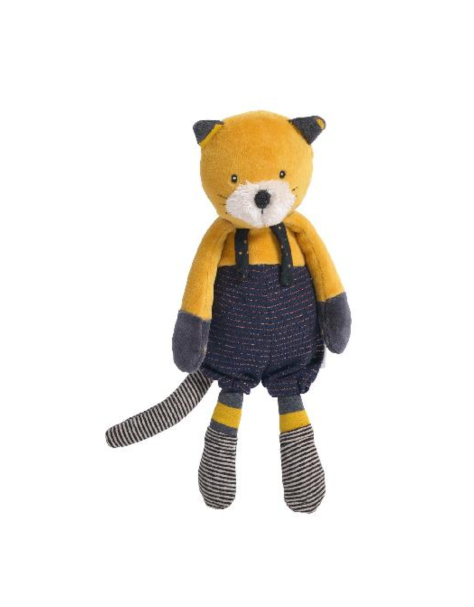 Moulin Roty Les moustaches - peluche chat Lulu