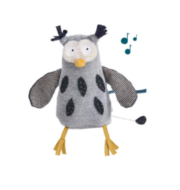 Moulin Roty Moustaches - musical owl