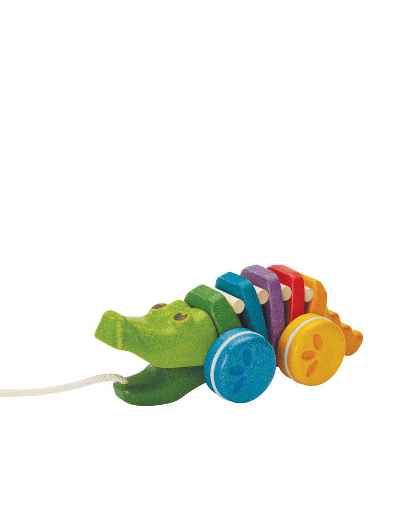 Plan Toys Rainbow alligator