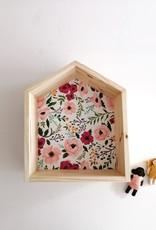 Les p'tites poires Maison en bois - Fleurs