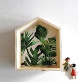 Les p'tites poires Maison en bois - Feuillage