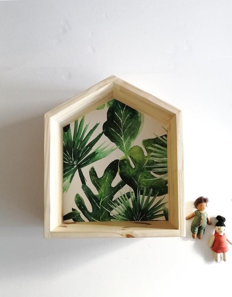 Les p'tites poires Wooden house - Leaf
