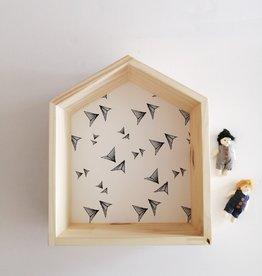 Les p'tites poires Maison en bois - Avion