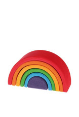 Grimm's Wooden rainbow - Small - Bright colors