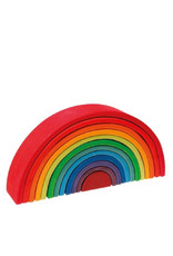 Grimm's Wooden rainbow - large -bright colors