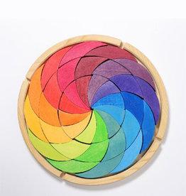 Grimm's Cercle chromatique en bois - Couleur vive