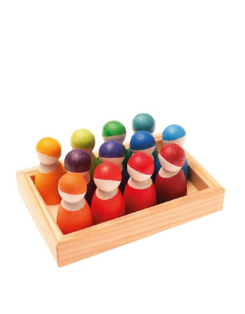 Grimm's Wooden friends - Bright color
