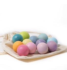 Grimm's Wooden balls - Pastel