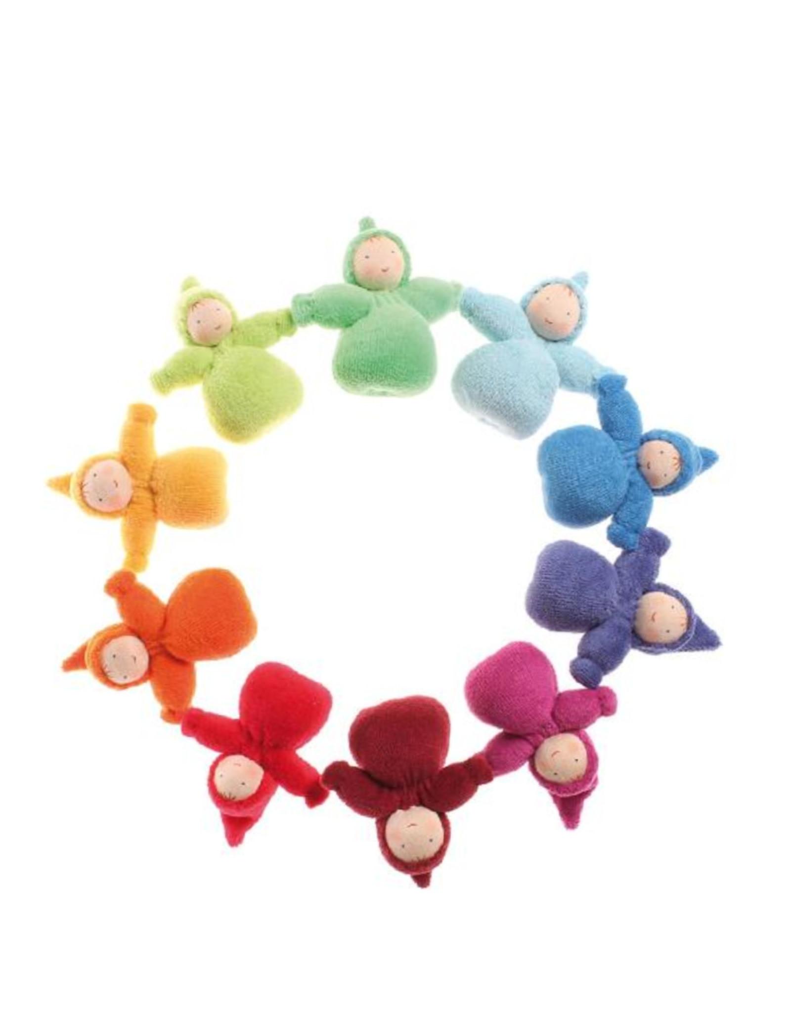 Grimm's 10 Petits lutins Waldorf multicolores