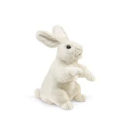 Folkmanis Marionnette Lapin blanc debout
