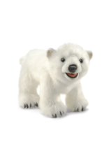 Folkmanis Polar Bear cub puppet