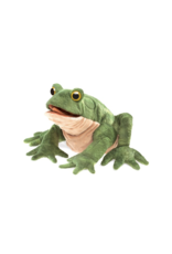 Folkmanis Toad puppet