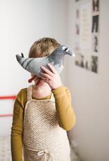 Main sauvage Peluche pigeon