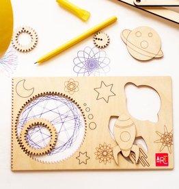 Atelier Rue Tabaga Spiral-ART- Drawing set