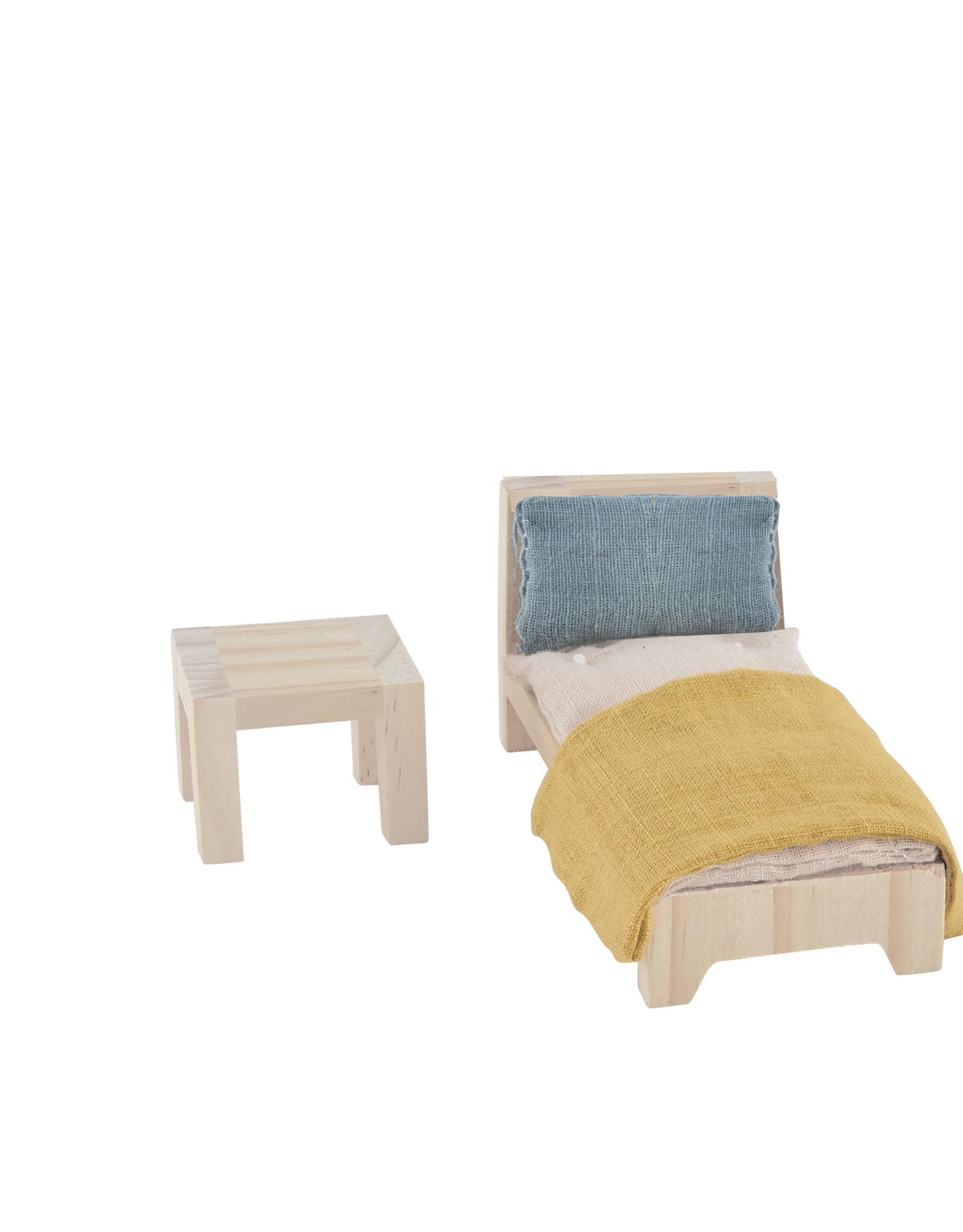 Olli Ella Meubles pour maison Holdie - Chambre à coucher lit simple