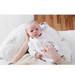 maovic Coussin d'allaitement - Écales de sarrasin - Romarin