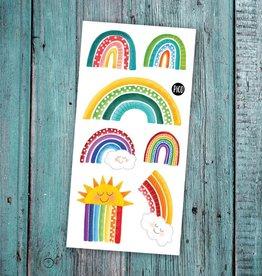 Pico Tattoo - Colourful Rainbow