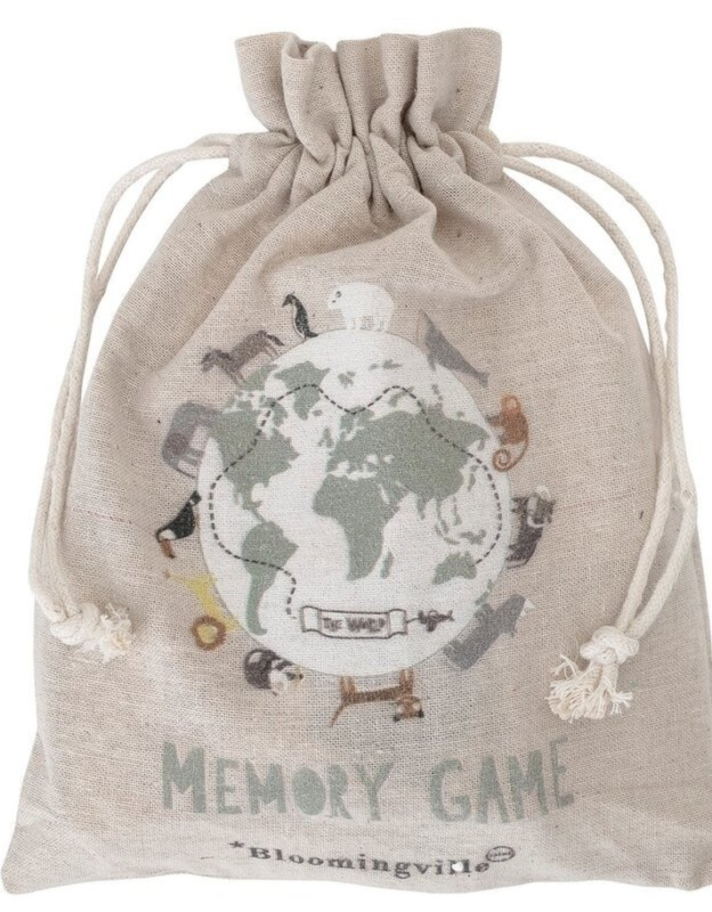 Bloomingville Memory Game with bag from Bloomingville