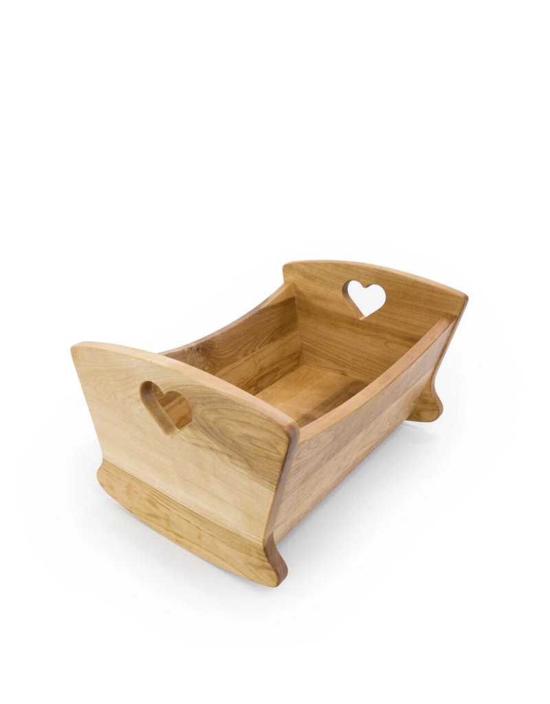 Atelier Bosc Cradle for doll -  Cherrywood