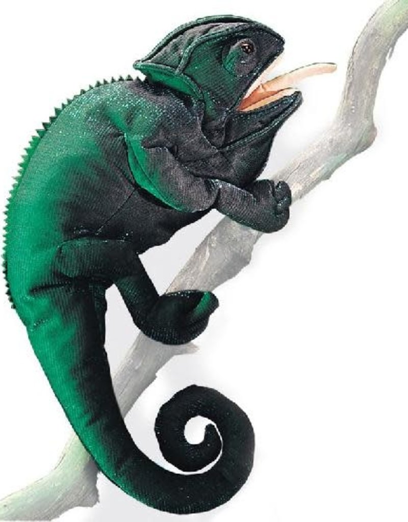 Folkmanis Puppet - Chameleon
