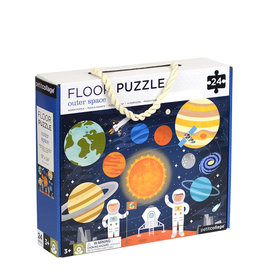 Petit Collage Floor puzzle - Outer space 3+