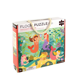 Petit Collage Floor puzzle - Mermaid 3+