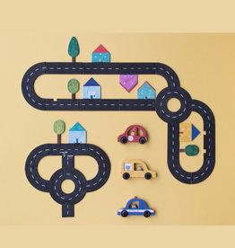 Londji Jeu coopératif en famille - Les Routes
