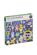 Petit Collage Decoder puzzle - Monstrer Jam!