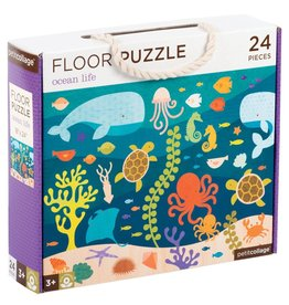 Petit Collage Floor puzzle - l'océan  3+