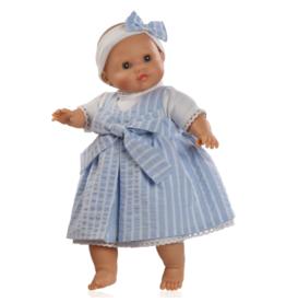 Paola Reina Los Manu doll who closes his eyes  - Gabriela 36cm / 14''