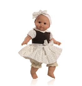Paola Reina Los Manu doll who closes his eyes-  Lola 36cm / 14''