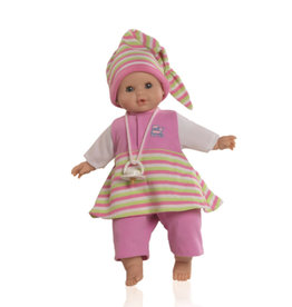 Paola Reina Alex & Sonia Doll fixed eyes and eyelashes- Sonia in summer - 36cm / 14''