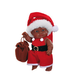 Paola Reina Third free when you buy 2! Peques Doll - Olmo celebrate Christmas - 21cm / 8''
